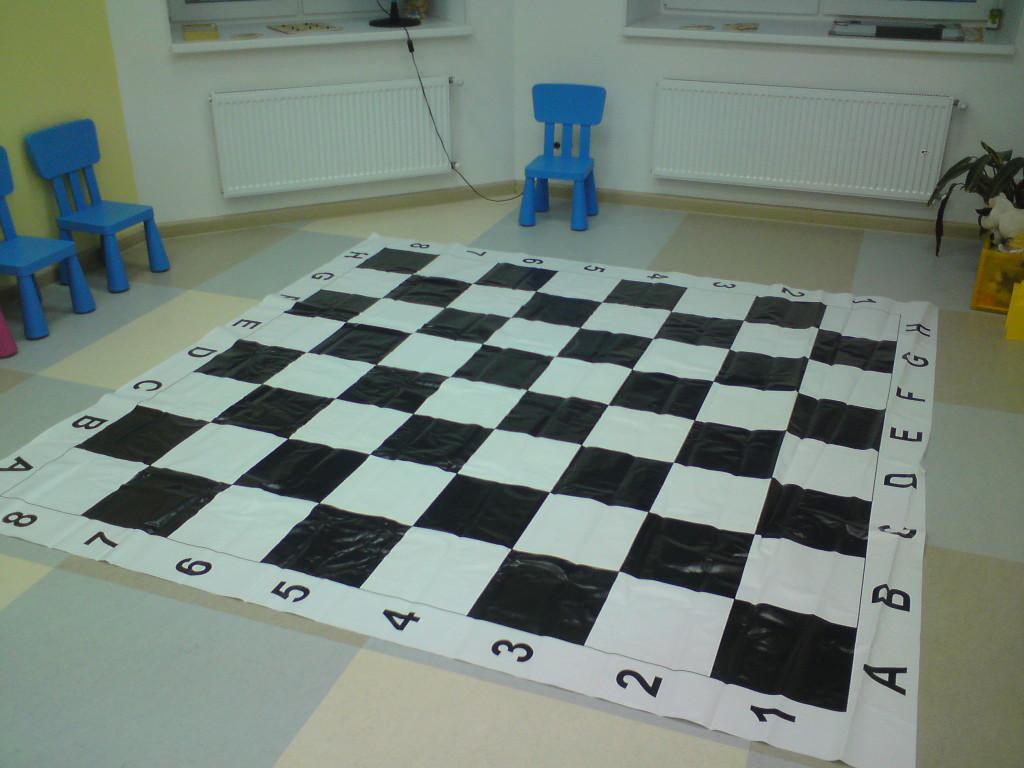 шахматный ковер