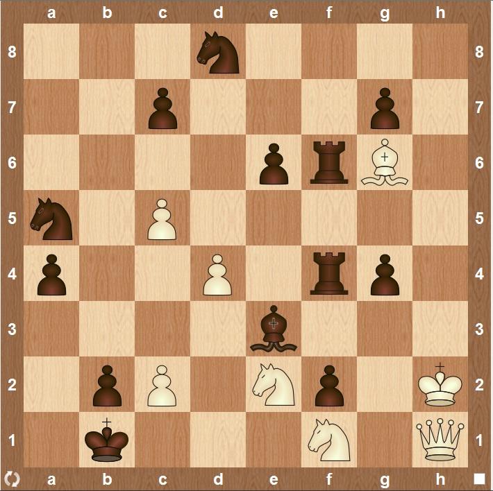Задача по шахматам