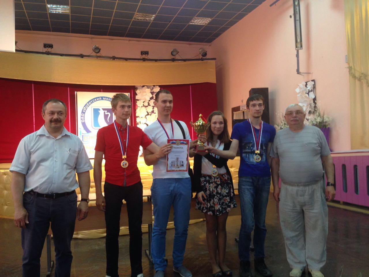 Николай Богданов стал чемпионом Свердловской области по быстрым шахматам в составе команды Косулино