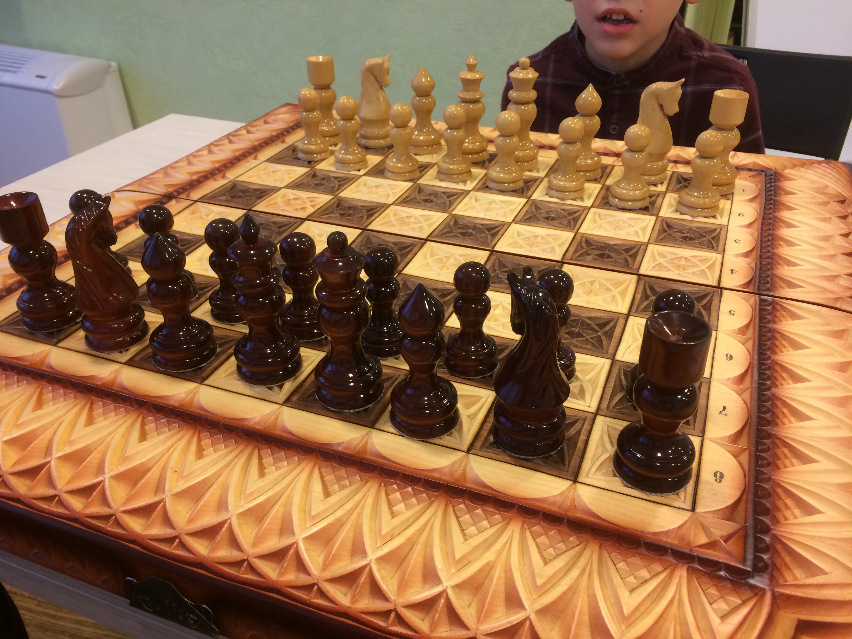 Освящённые шахматы у нас!