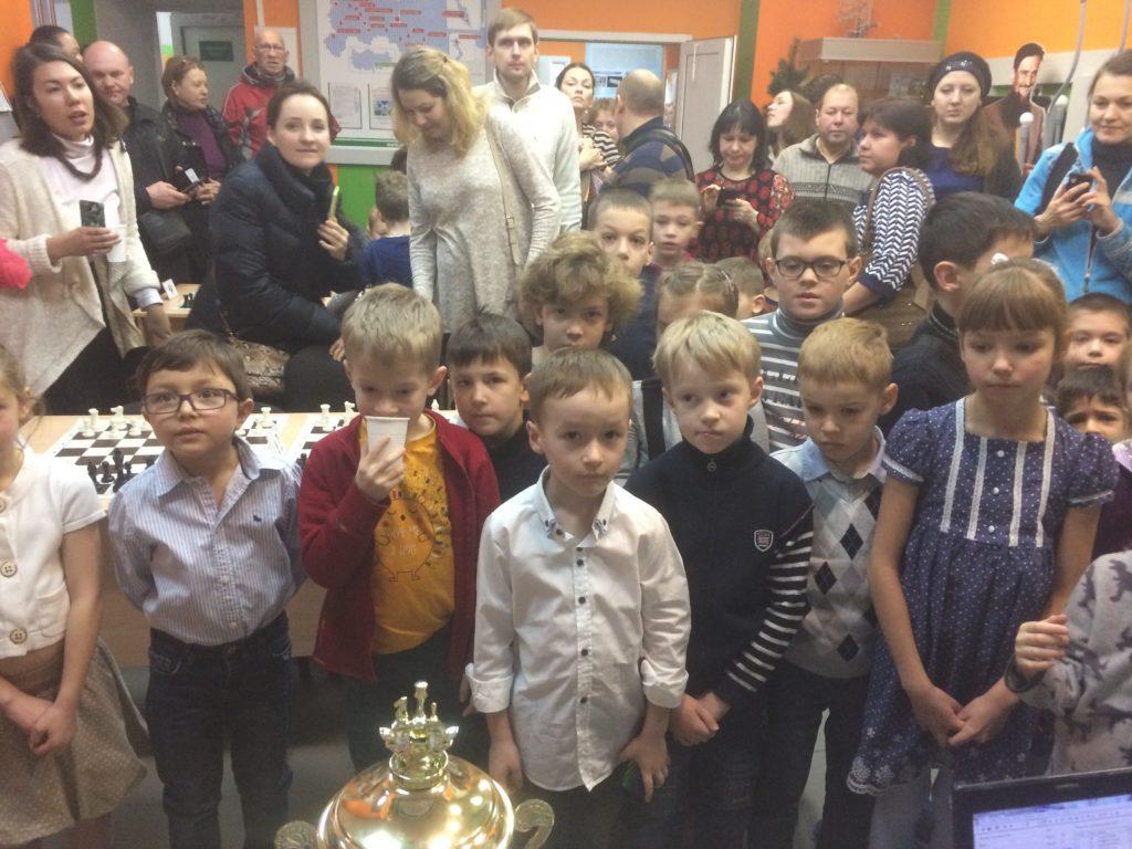 Турнир Art of chess Новогодний