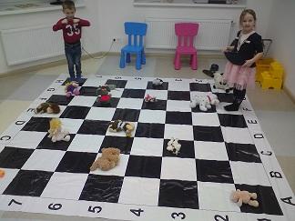 шахматы для детей 3 лет