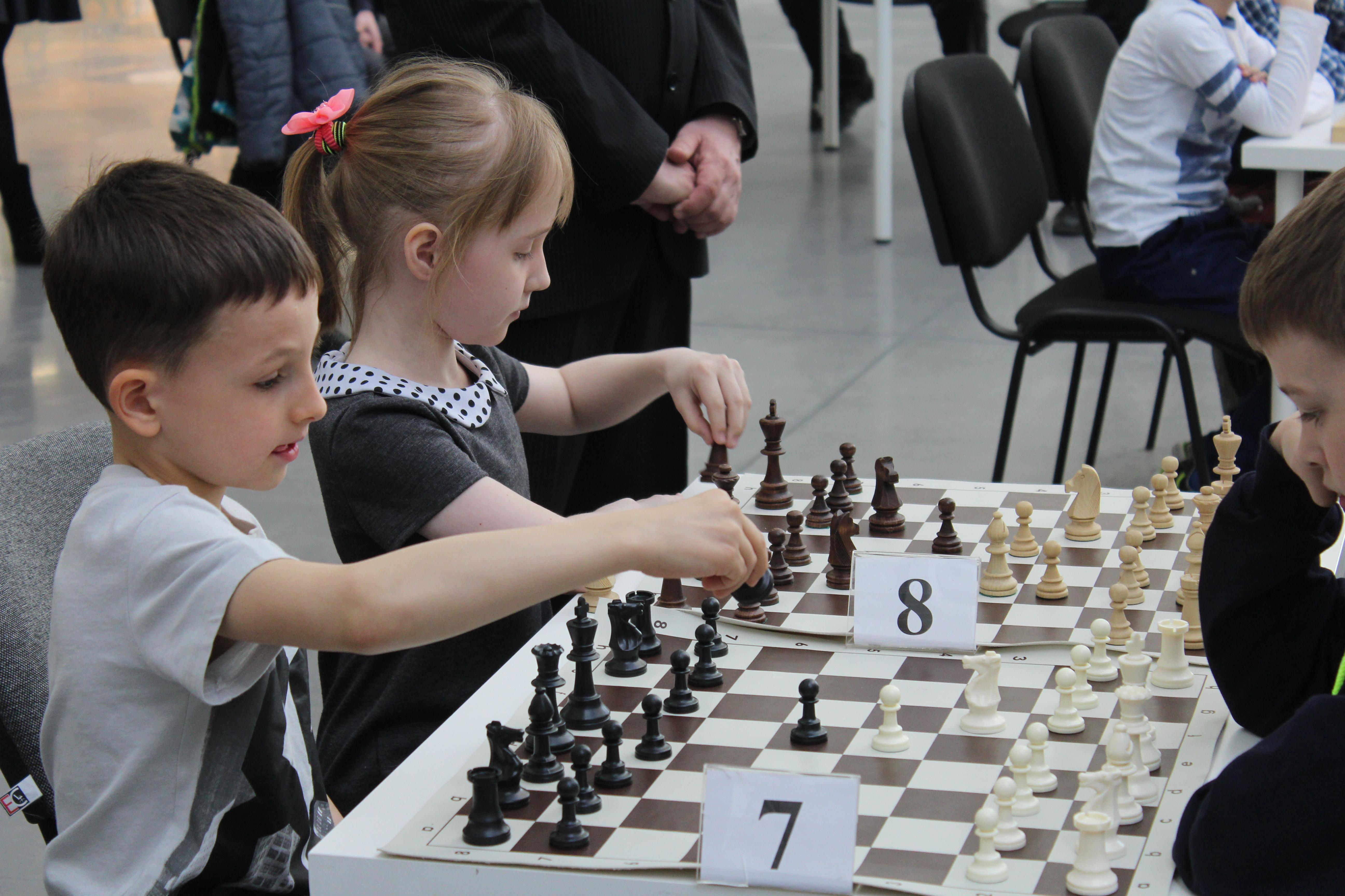Отдать ребенка на шахматы