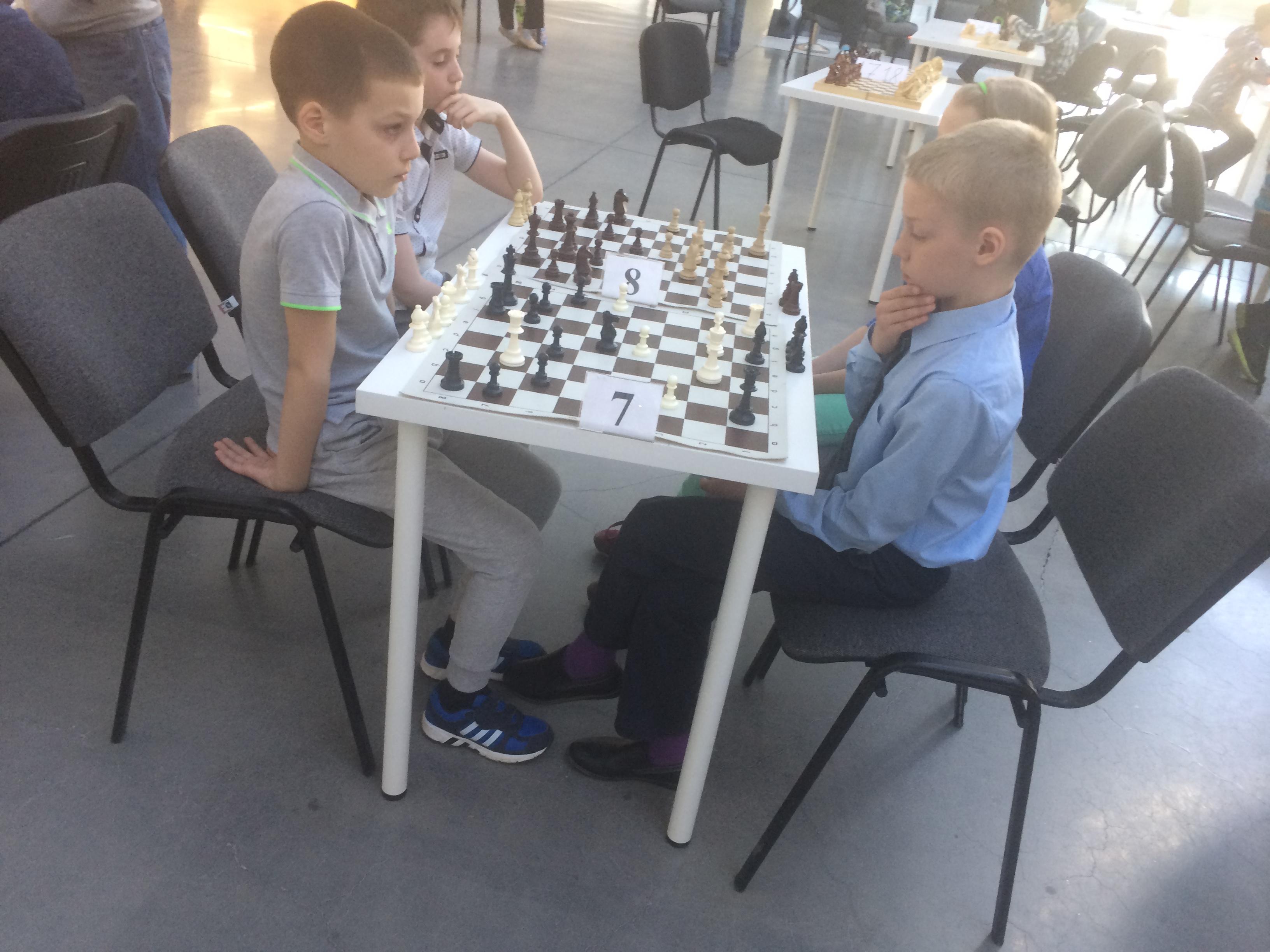 Шахматы на вторчермете