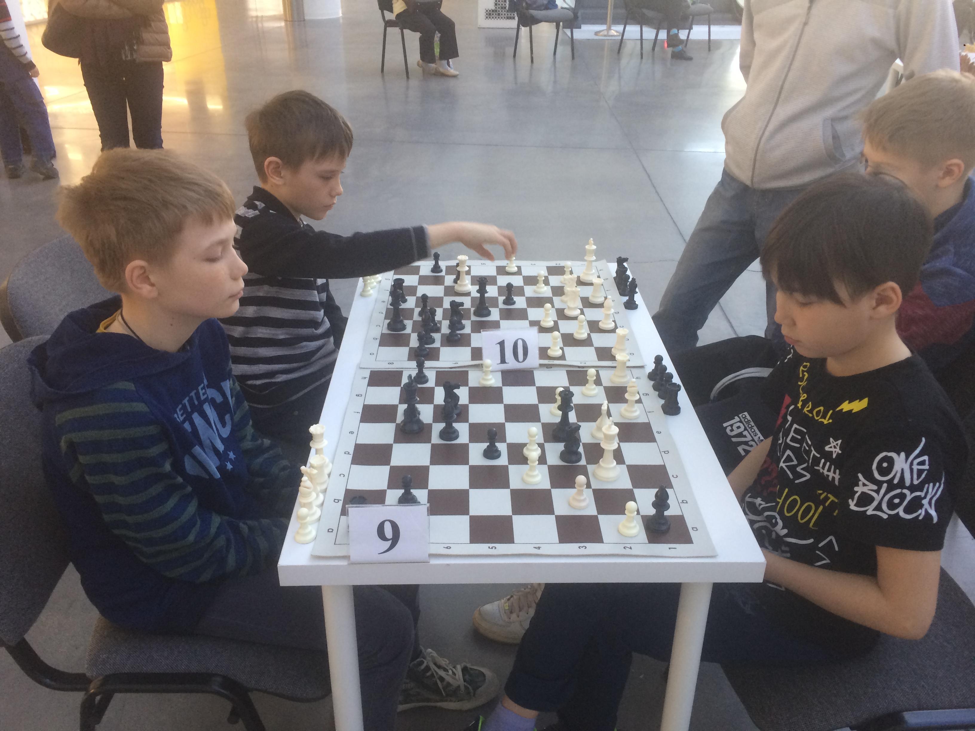 Шахматная секция
