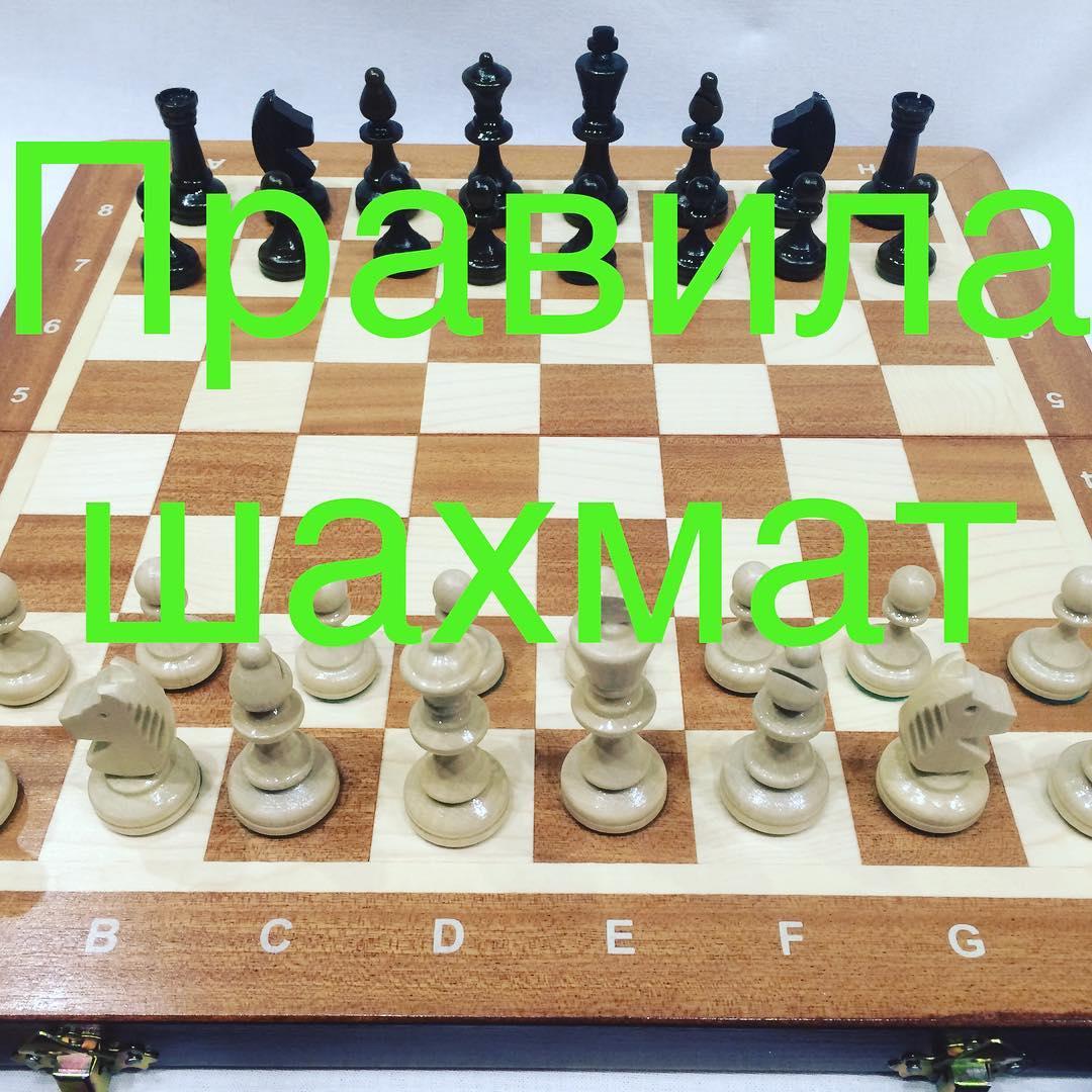 Шахматы правила