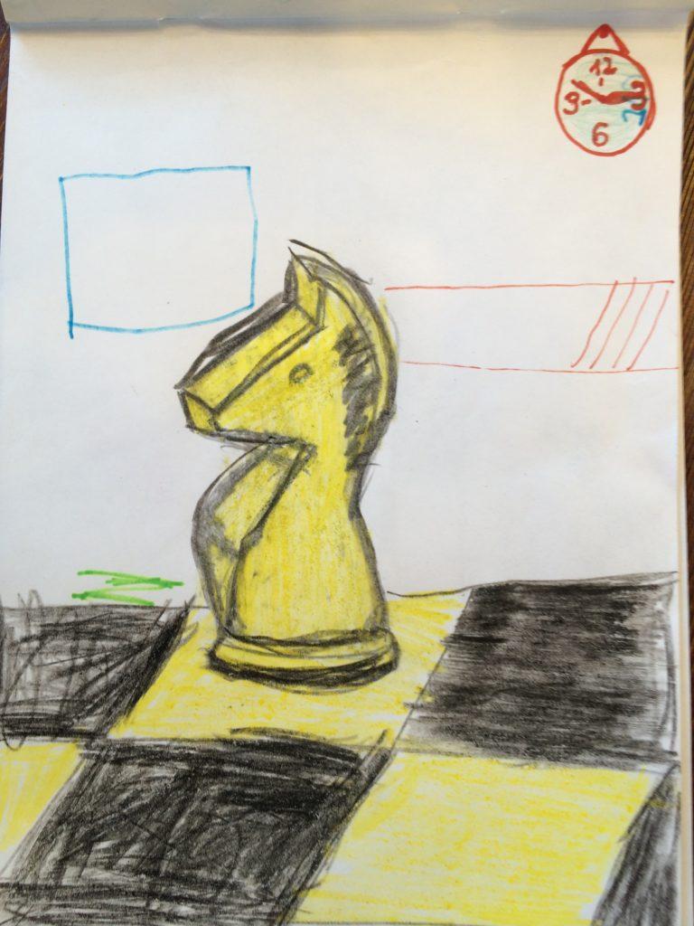 конь шахматный