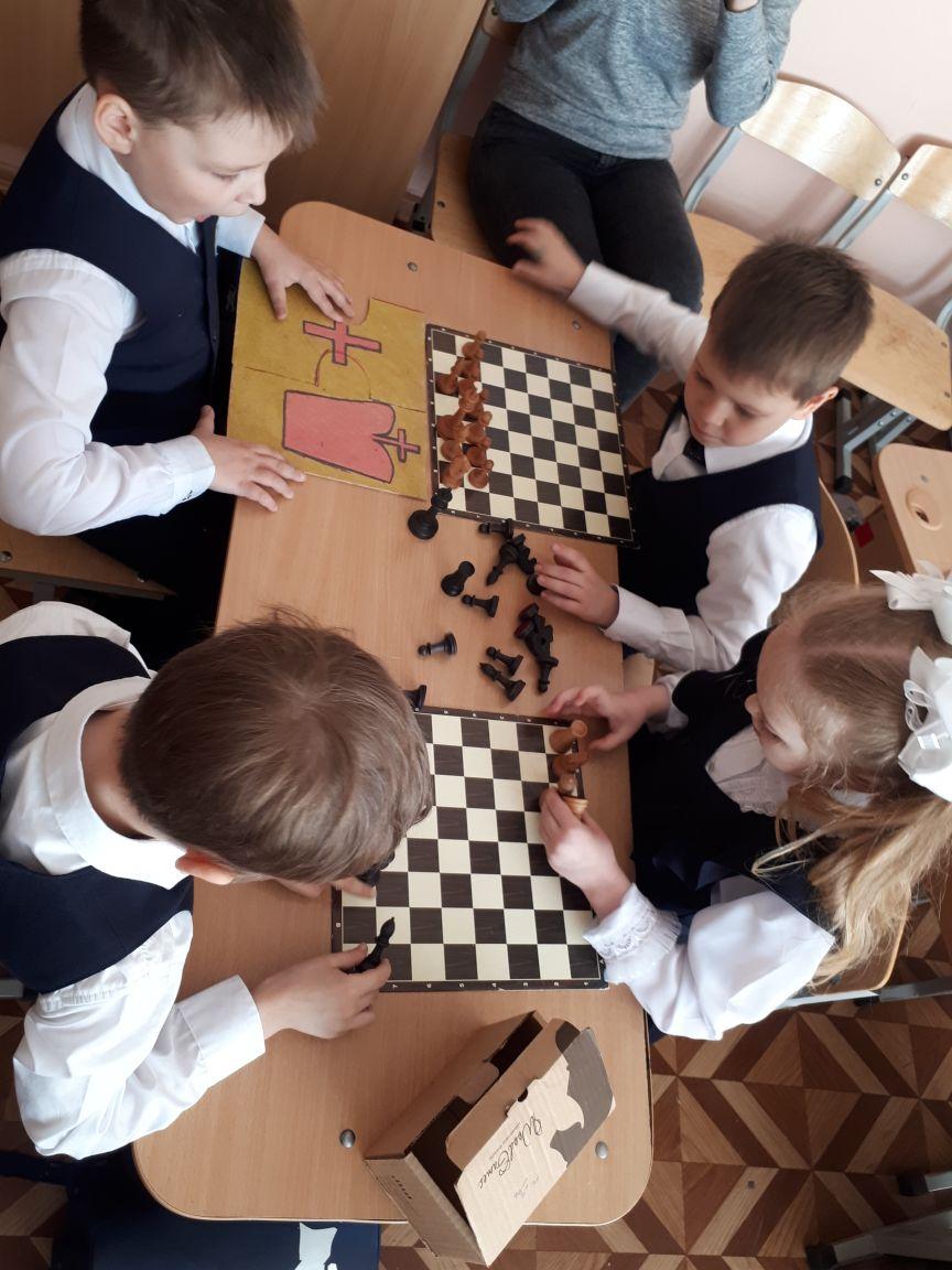 Пазл шахматы
