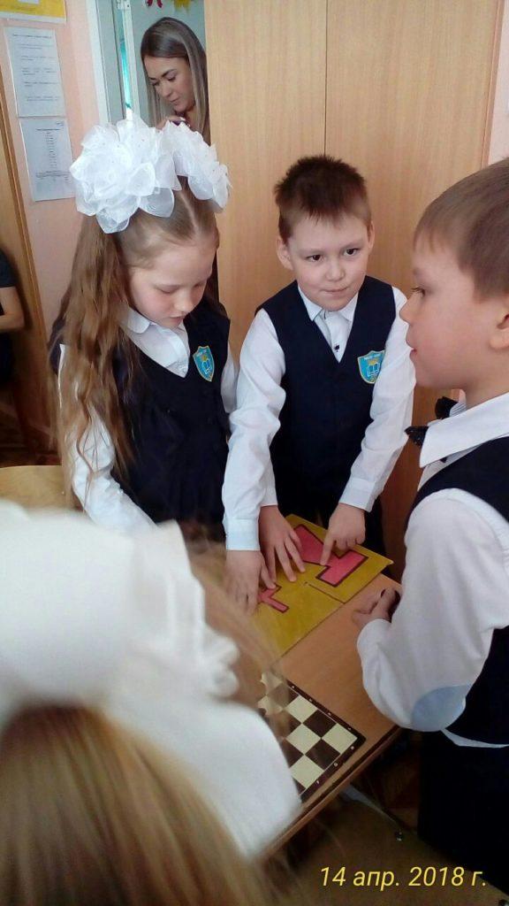 Дети шахматы