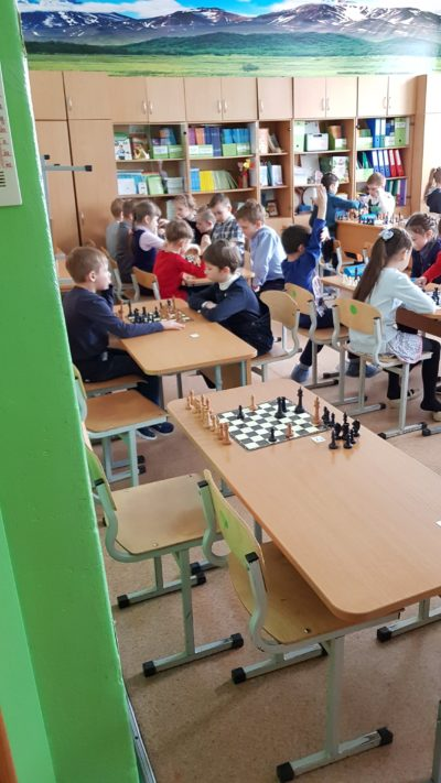 Шахматы в садике