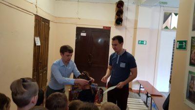 Вручение медалей по шахматам