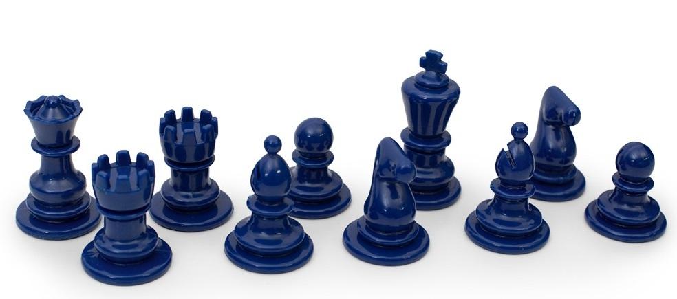 синие шахматы