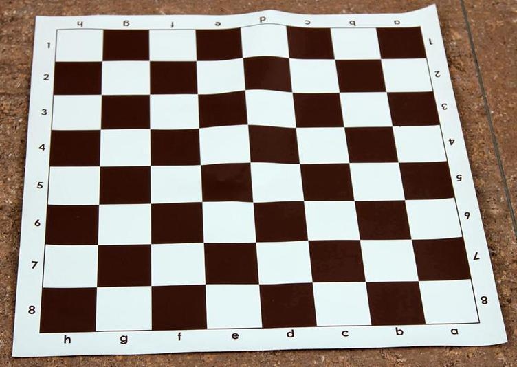 доска шахматная винил