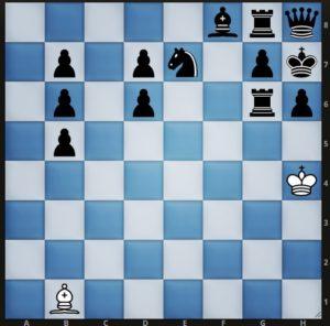 Задача по шахматам на мат в 27 ходов