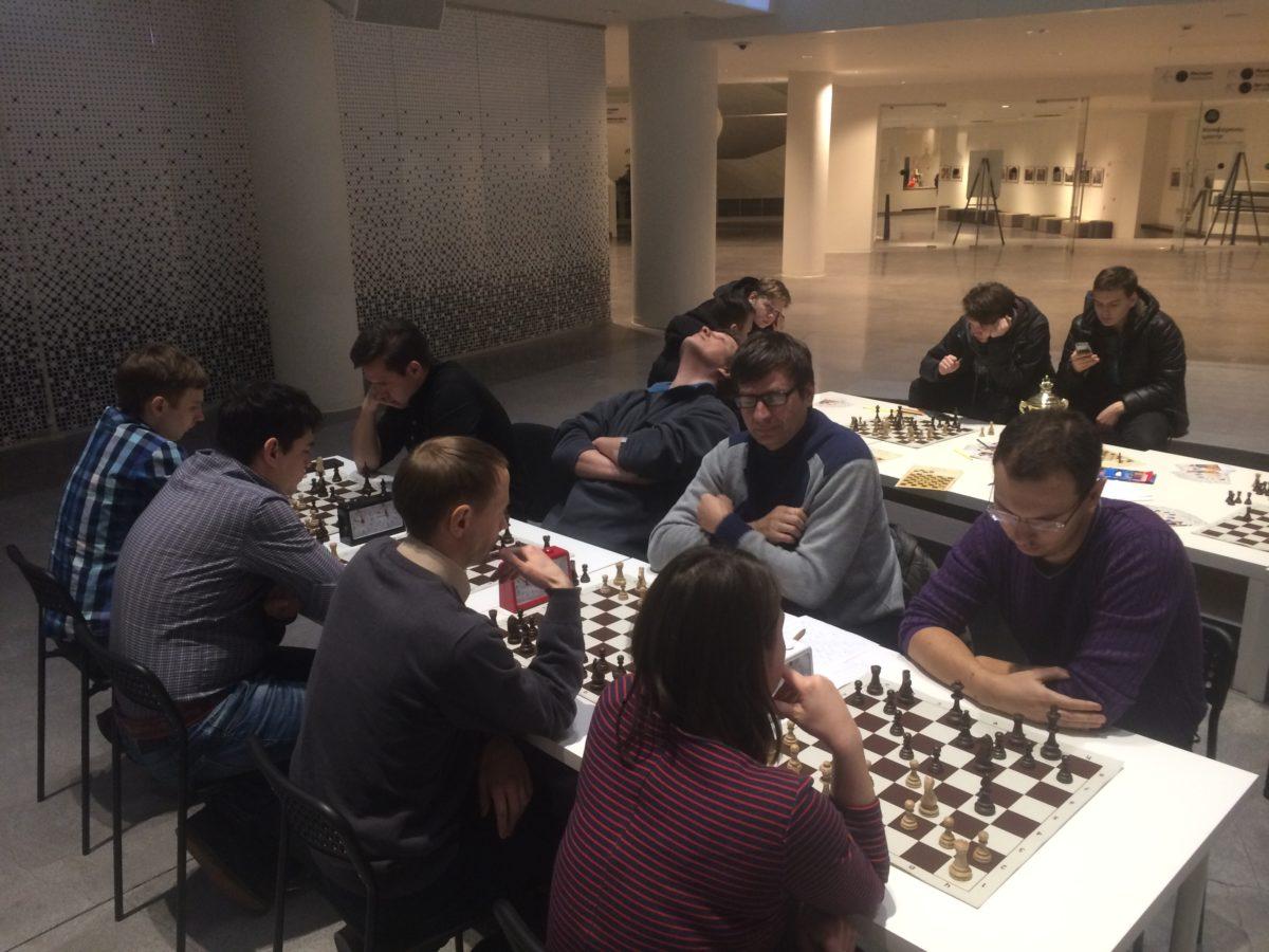Мастер класс по шахматам