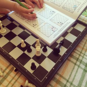 преподаватель шахмат в детском саду