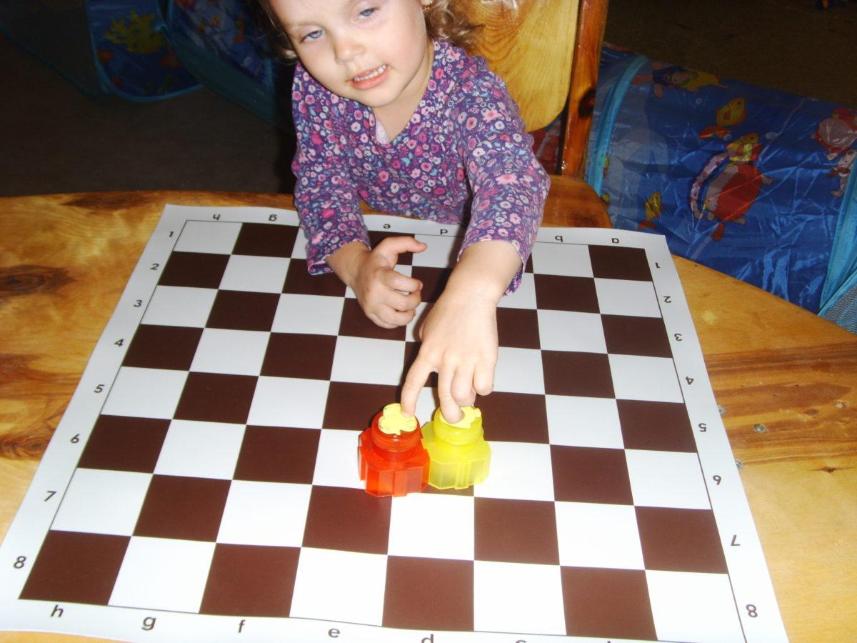 Шахматы в 2 года
