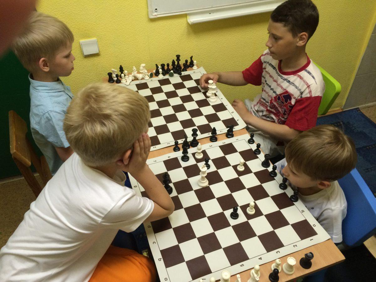 Тренер по шахматам в детский сад