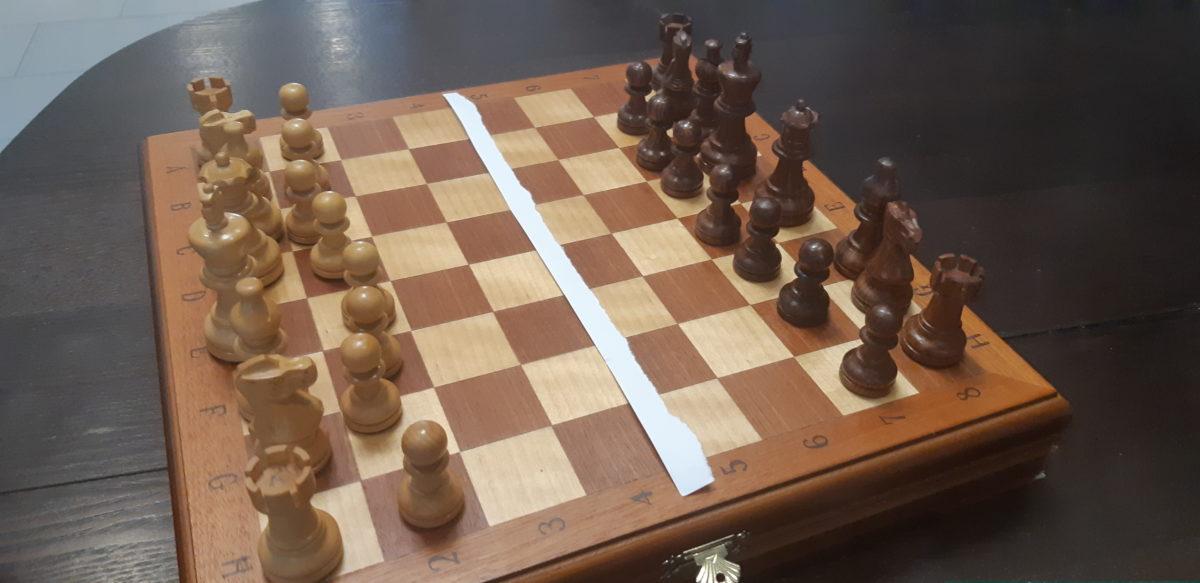 Демаркационная линия в шахматах