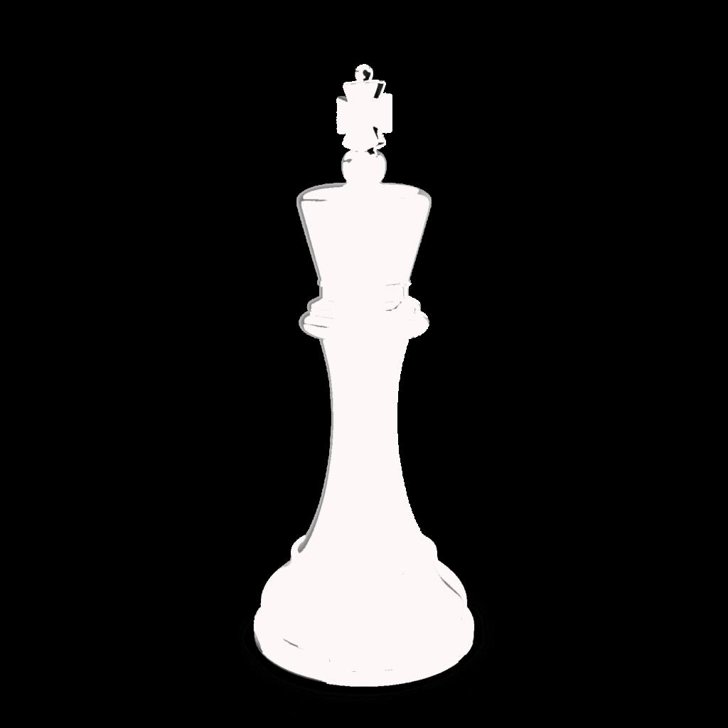 Король белый шахматы