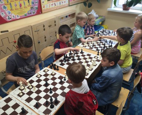 Занятия шахматами на даче